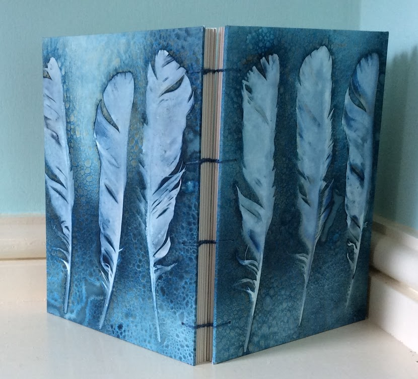 Cyanotype Feathers