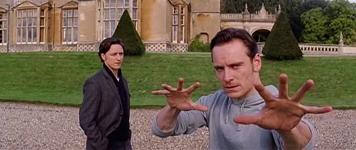 You wanna see a magic trick X Men First Class Magneto And Charles