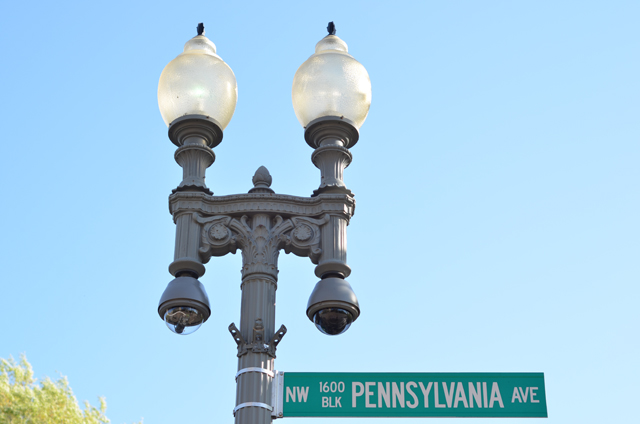 Pennsylvania Ave Sign