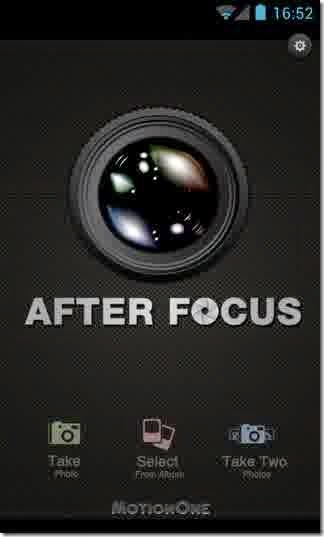 AfterFocus Camera android aplikasi photo