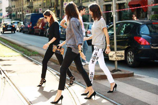 cropped pants street style