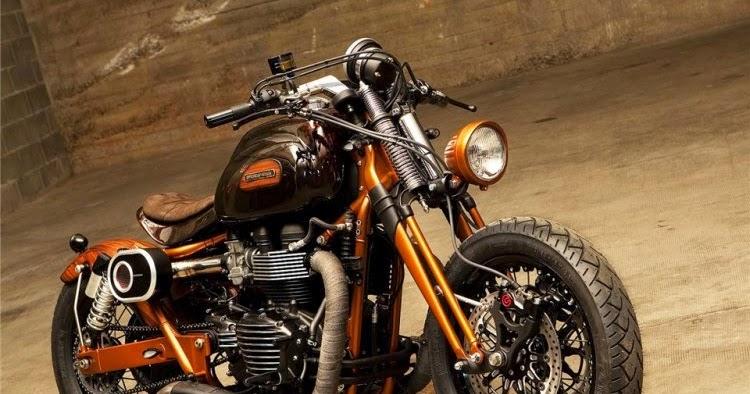 Motorcycle triumph bonneville version officine gp design for Garage auto bonneville