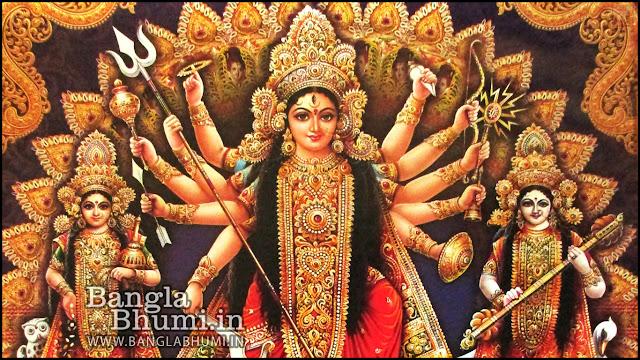 Maa Durga Kolkata Indian God 1366x768 Wide Wallpaper