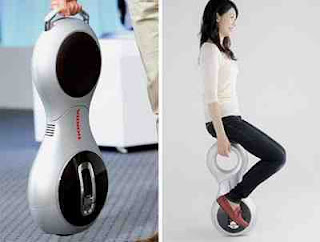 Honda U3-X: If Unicycles and Segways Mated|Data 7 Konsep Sepeda Paling Unik Dan Kreatif