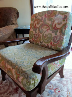 Fifties Chair All Re-Done and Re-Finished