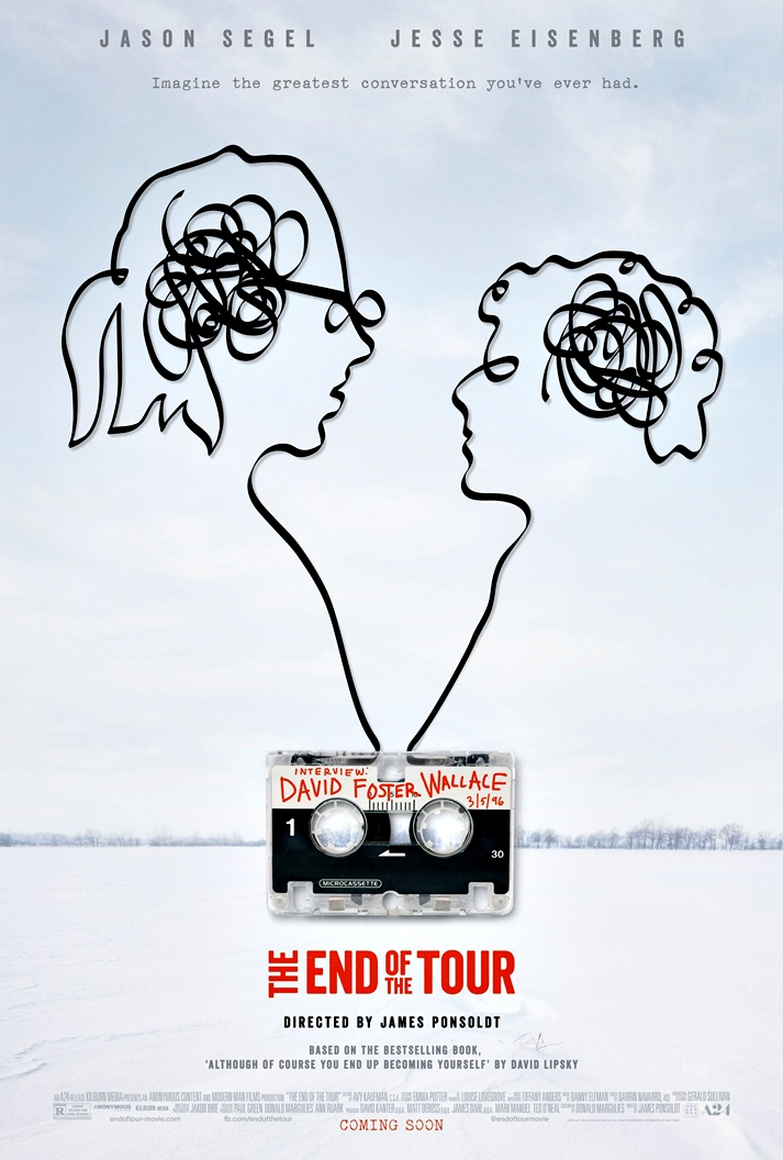 Póster: The end of the tour