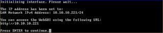 Konfigurasi jaringan di NAS4Free