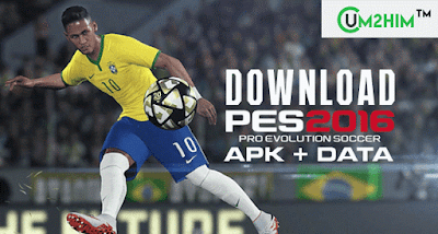 Download Game Pes 2016 APK + DATA Terbaru