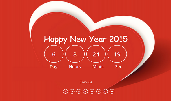 Happy New Year Responsive Blogger Template