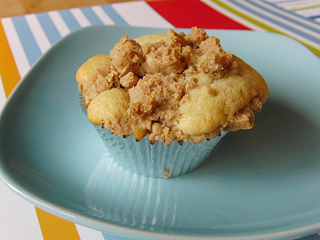 Dinners for a Year and Beyond: Crumb Cake Muffins