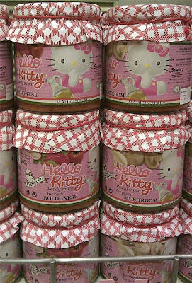 Hello Kitty spaghetti pasta bolognese