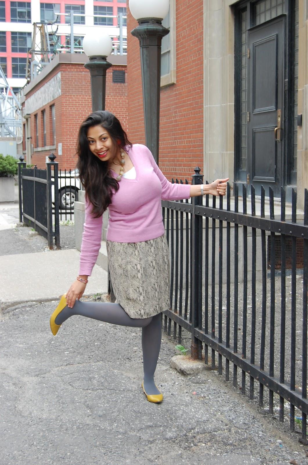 Natasha Fatah Pink Animal Inspired By The Sartorialist