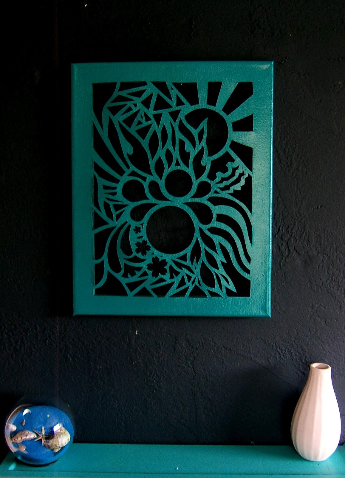 Nine RedNew LoveCut Canvas