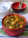 Potato And Methi (Fenugreek Leaves) Curry