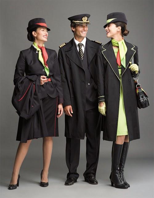 Những bộ đồng phục tiếp viên đẹp nhất