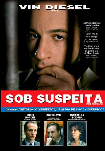 Filme Poster  Sob Suspeita DVDRip RMVB Dublado