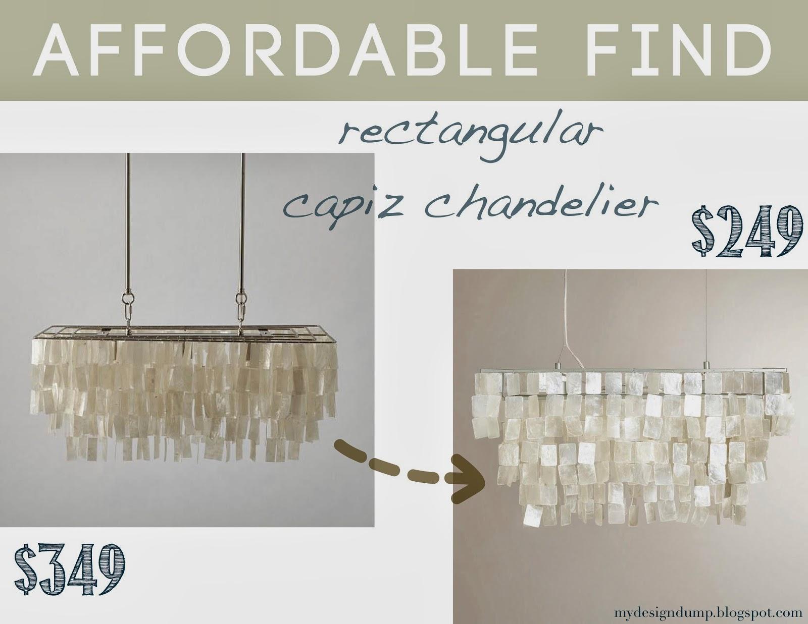 Design dump affordable find lighting round up world market rectangular natural capiz hanging pendant lantern arubaitofo Choice Image