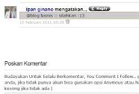 Cara memunculkan avatar / gambar profil komentator postingan di blog