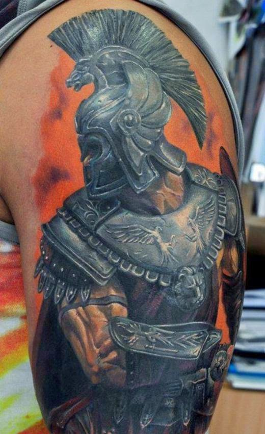 40 Tatuajes de guerreros
