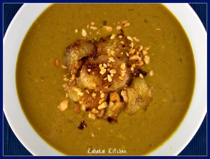 Curried Peanut Soup with Banana Topping: Unique & Warming for Souper ...