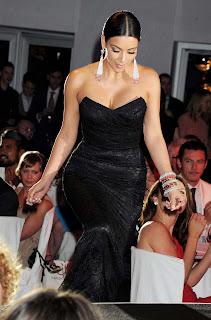 Kim Kardashian Cute Photos in Black