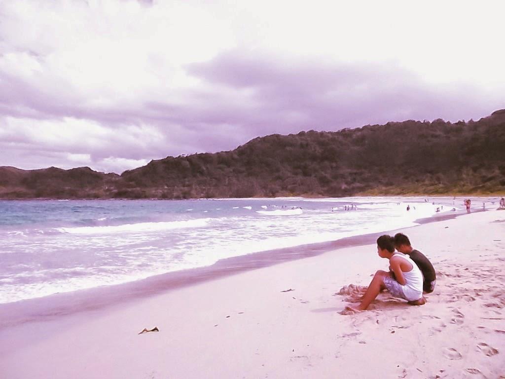 bromance in the beach