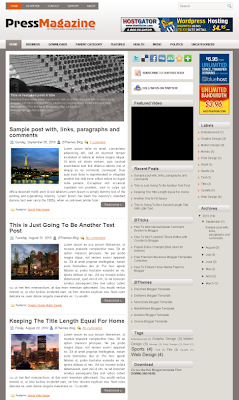 Premium Blogspot Theme