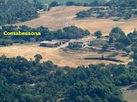 Zoom a la masia de Comabessona del Pla de la Garga