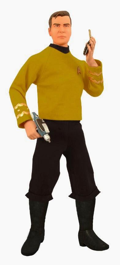 Figura Capitan Kirk Star Trek