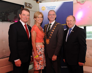 Austin McCabe Vice-President Symantec Ireland and Mayor of Fingal Kieran Dennison