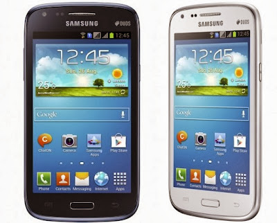 Harga Samsung Galaxy Core GT-I8262 dan Spesifikasi