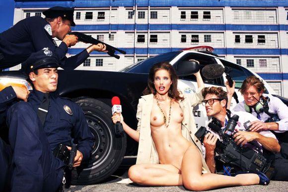 tony kelly naked news reporter nua pelada modelo