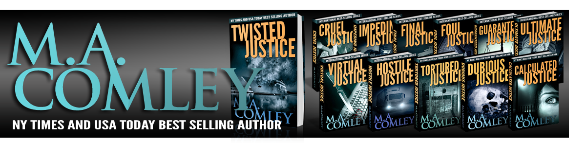 M A Comley, NY Times Bestselling Author