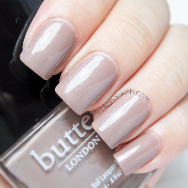 butter LONDON Yummy Mummy Swatches & Review