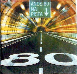 Anos 80's Na Pista Internacional CD Capa