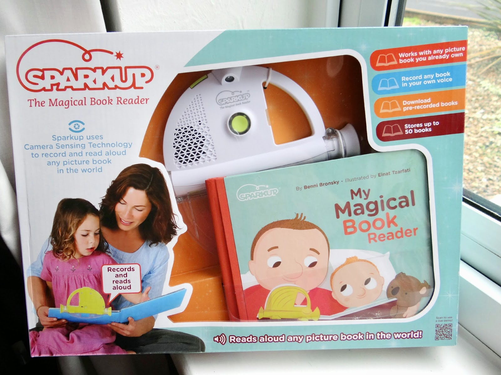 Sparkup Magical Book Reader, electronic book reader, children electronic voice recorder