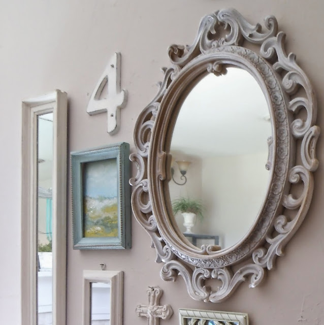 Vintage Mirror Home Decor