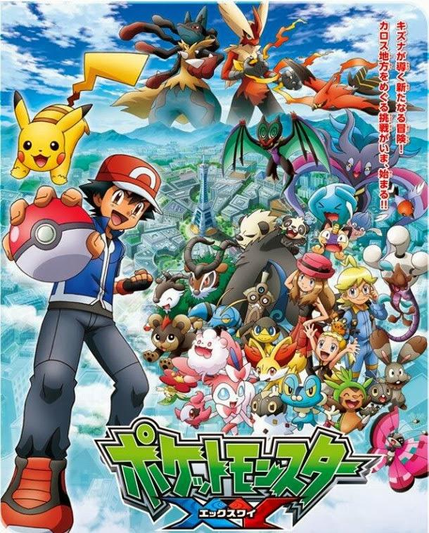 Los nuevos compañeros de viaje de Ash en este tráiler de Pokémon XY