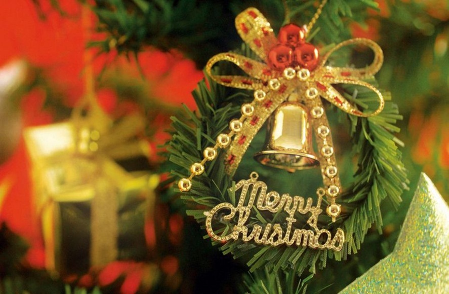 Free decorative christmas bell images hd wallpapers 2017 happy christmas hd bell images voltagebd Image collections