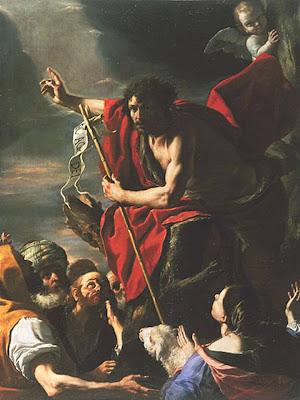 En la imagen San Juan Bautista predicando.