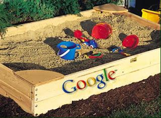 Ilustrasi dari Google Sandbox, yang dapat menyebabkan blog terhapus dari hasil pencarian Google.