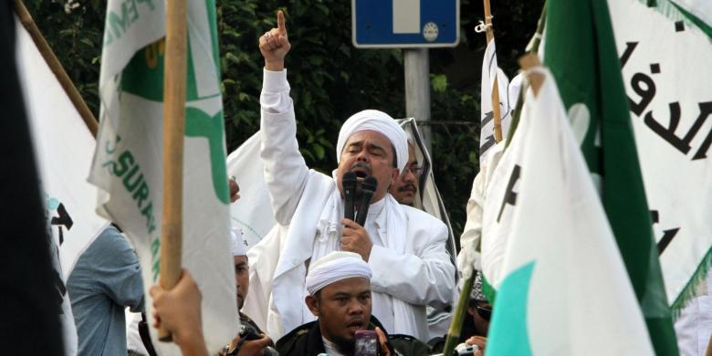 Ketua FPI Rizieq Syihab Dipolisikan
