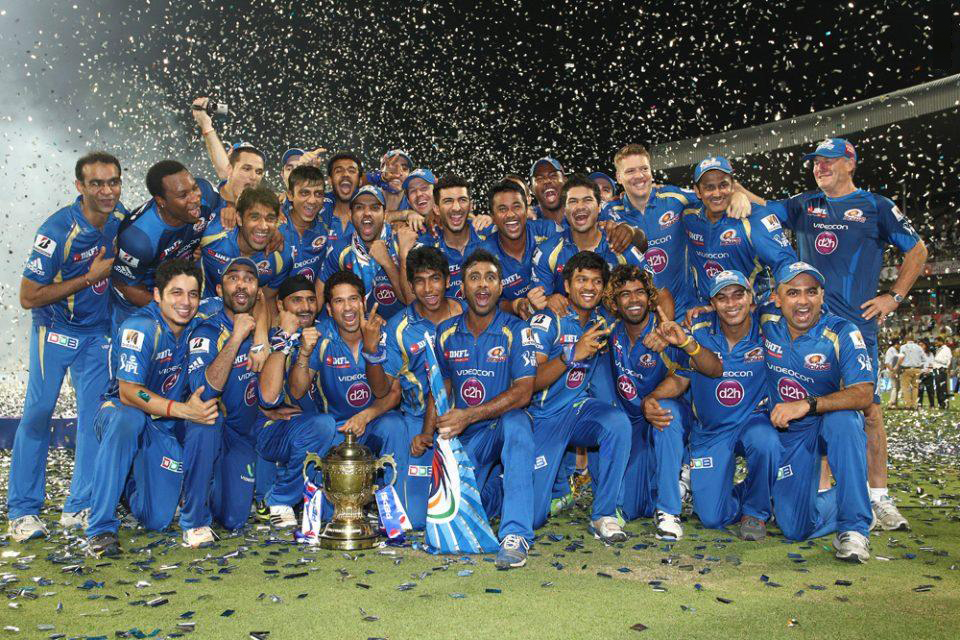 ... pepsi indian premier league trophy during the final of the pepsi
