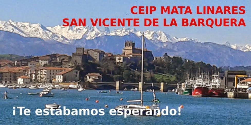 """Colegio """"Mata Linares"""". San Vicente de la Barquera (Cantabria)"""