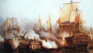 Batallas Navales Marinas Cuadros