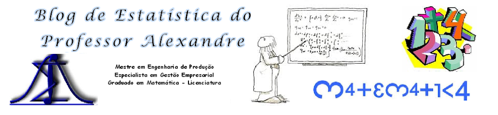 Blog de Estatística do Professor Alexandre