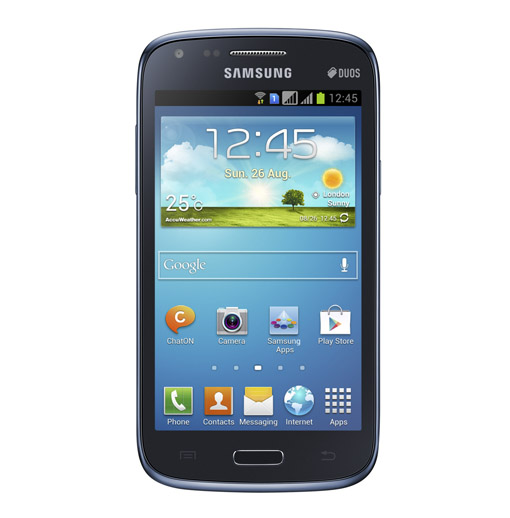 samsung galaxy core is a dual sim phone which has a 4 3 inch wvga