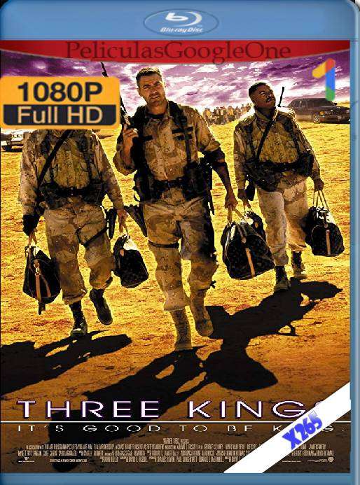 Three Kings (1999) x265 [1080p] [Latino] [GoogleDrive]