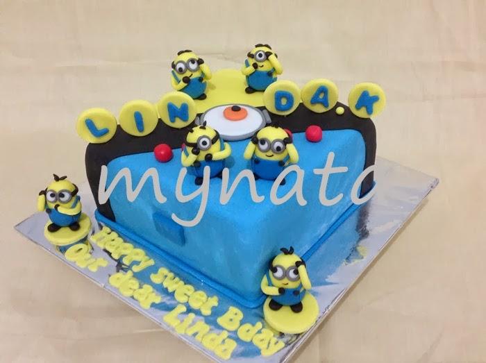 Mynata Cakes Minions Bday Cakes