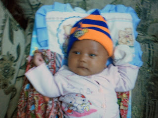 Jelita Aristawati Umur 1Bulan